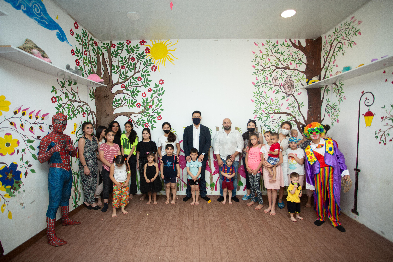 EKVİTA əməkdaşları Uşaq Sığınacağı Reinteqrasiya Mərkəzinə baş çəkib