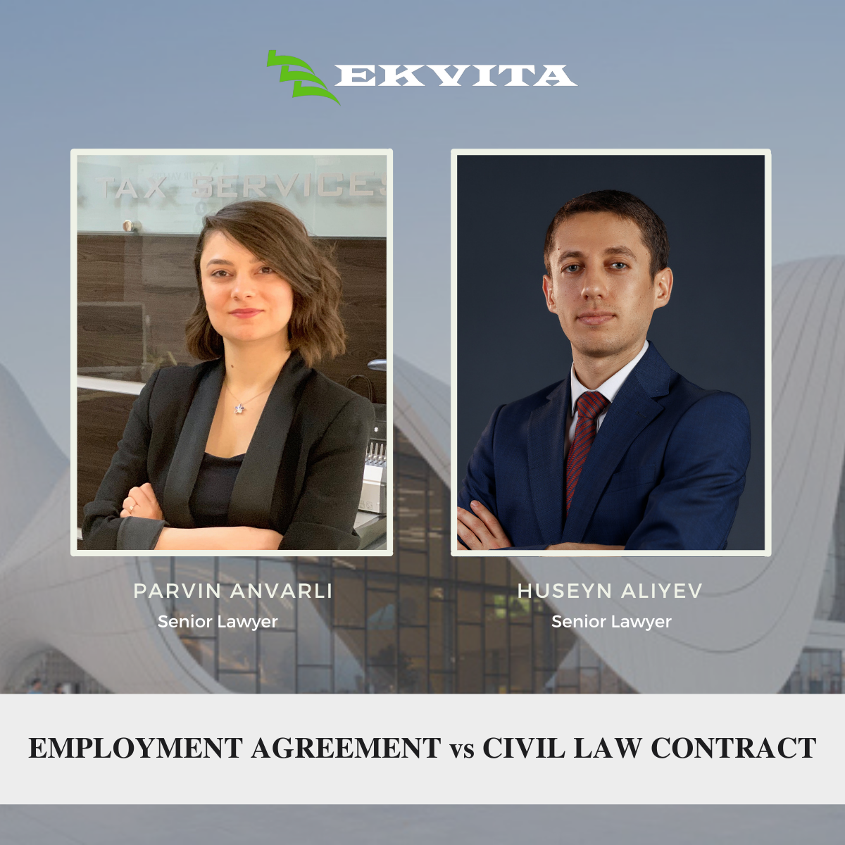 EMPLOYMENT AGREEMENT vs CIVIL LAW CONTRACT