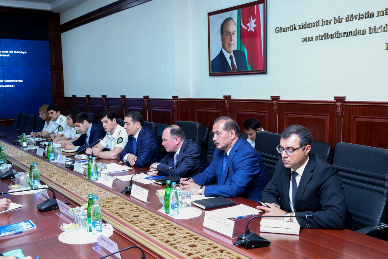 With support from ''EKVITA'' ''The Azerbaijan-France Chamber of Commerce and Industry'' and ''The Italian-Azerbaijan Chamber of Commerce'' meet with ''The State Customs Committee''
