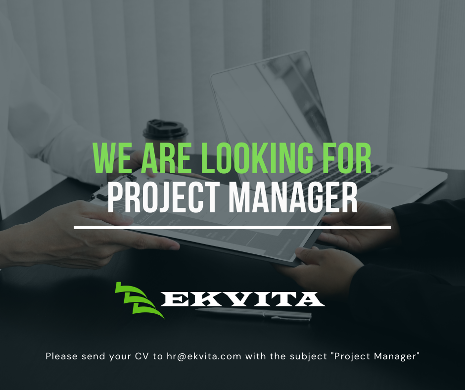 Job Announcement: Project Manager