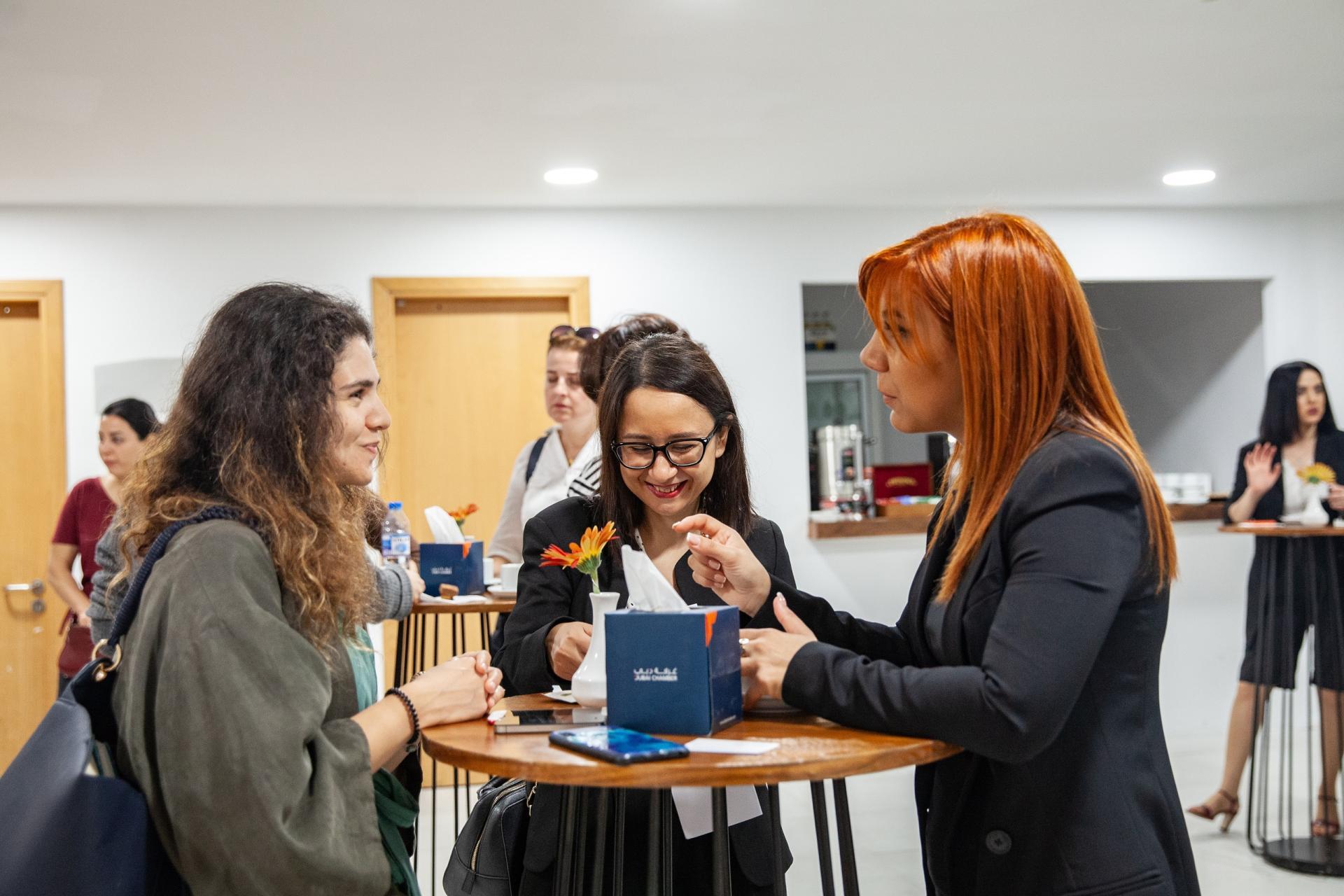Azerbaijan, France Dubai Chambers held business skills training for female artisans.