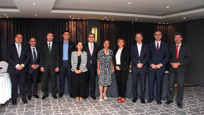 Ilgar Mehti led the session of the Azerbaijan-French Chamber of Commerce and Industry