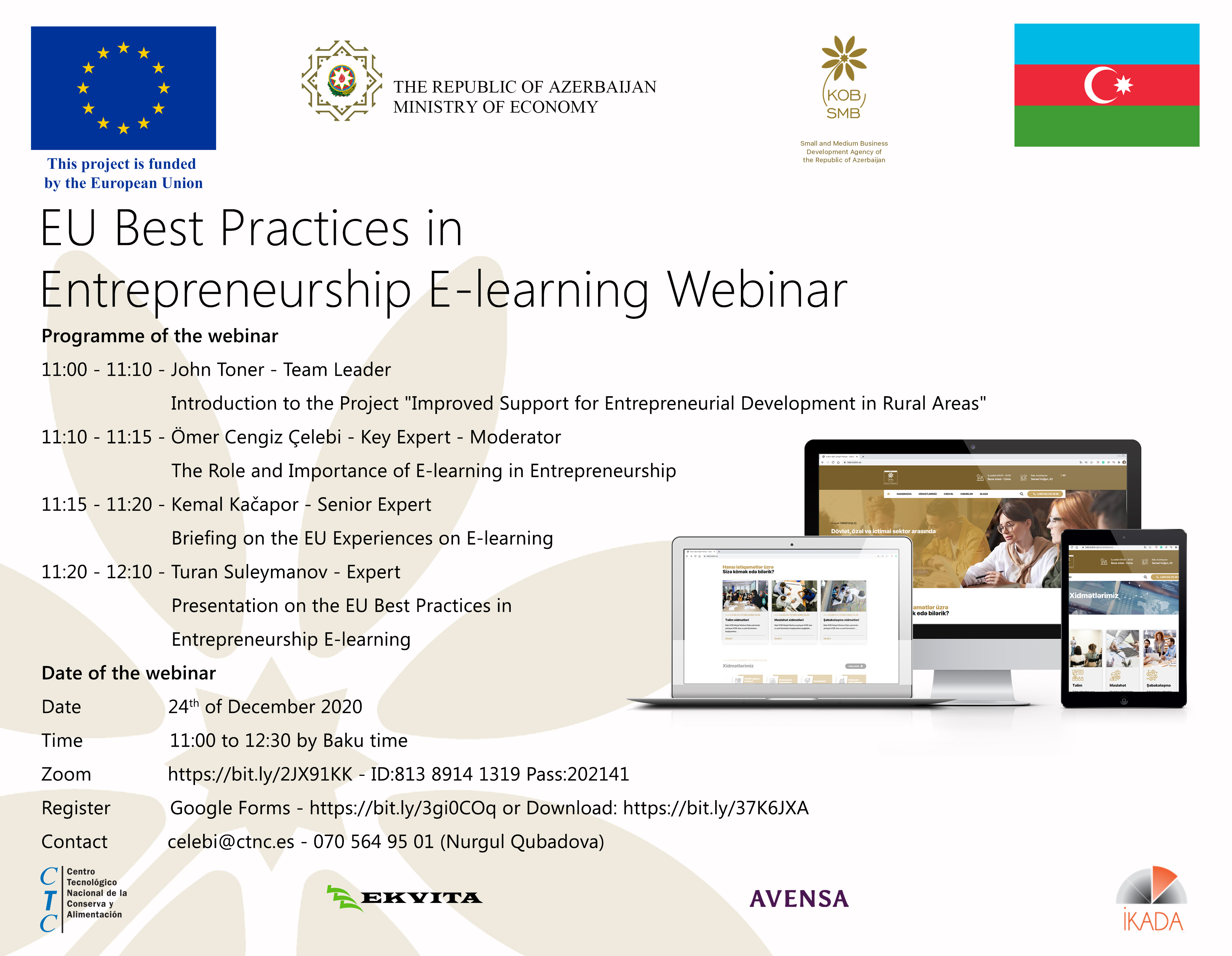 EU Best Practices in Entrepreneurship E-learning